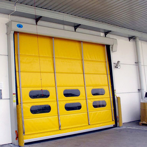 Stacking Rapid Door