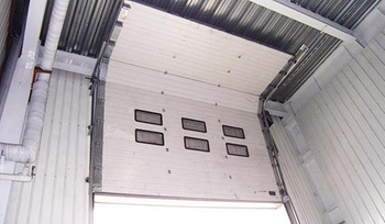 MeiGuang Package Company Sectional Door